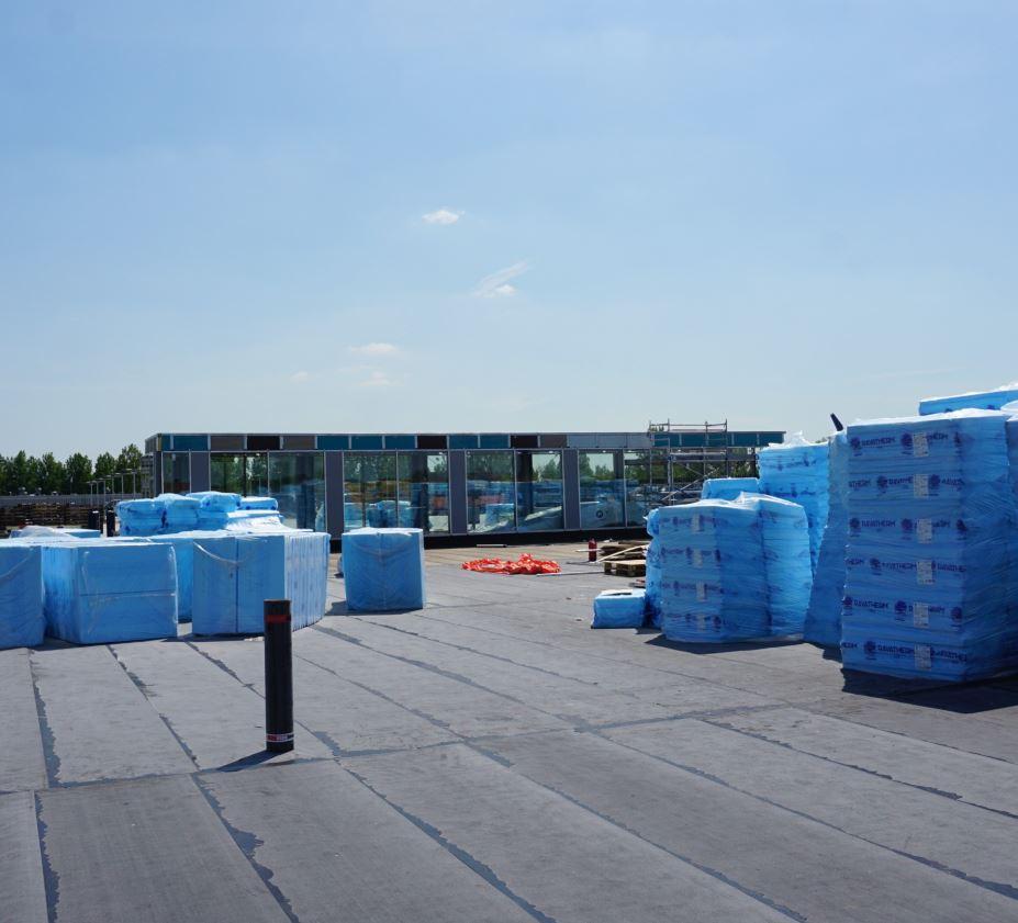RAVAGO BUILDING SOLUTIONS CASE: PARKEERDAK WINKELCENTRUM MARLO IN BEVERWIJK (NEDERLAND)