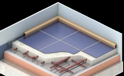 Fenolová pěna – Kooltherm® K3 Podlahová deska
