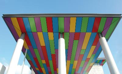 Čedičové fasádní desky – Rockpanel