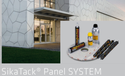 Lepící systém – SikaTack Panel systém