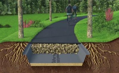 Geotextilie pro zahradu a tvorbu krajiny – DuPont Plantex