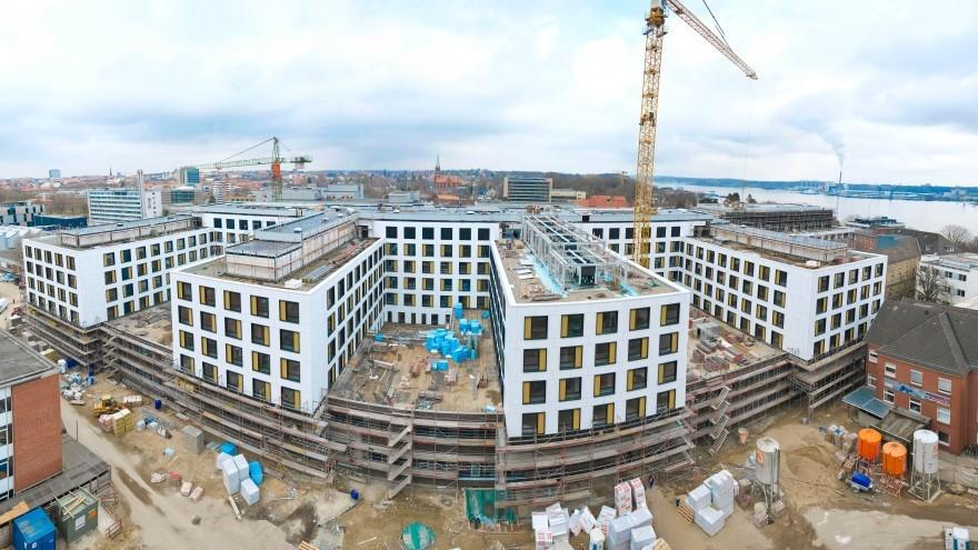 Megaprojekte-Europas größte Klinik-Baustelle