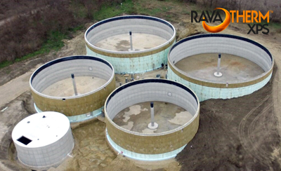 Biogáz erőműbe is RAVATHERM XPS