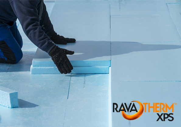 Vastag hőszigetelés beépítése padlóba