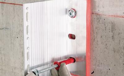 Hliníková nosná podkonštrukcia – Hilti Eurofox