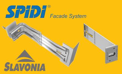 Rozšírenie portfólia | Podkonštrukcia SPIDI® max a SPIDI® light pre prevetrávané fasády