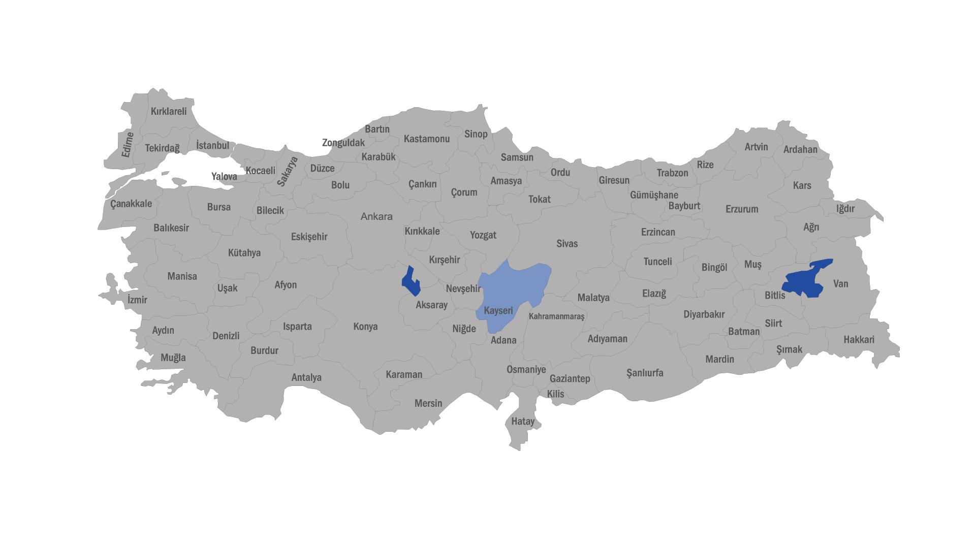 KAYSERİ BÖLGE